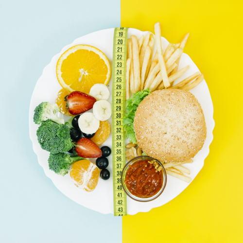 ¿Sigues una dieta equilibrada?