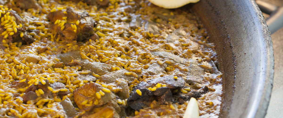 paella valenciana auténtica